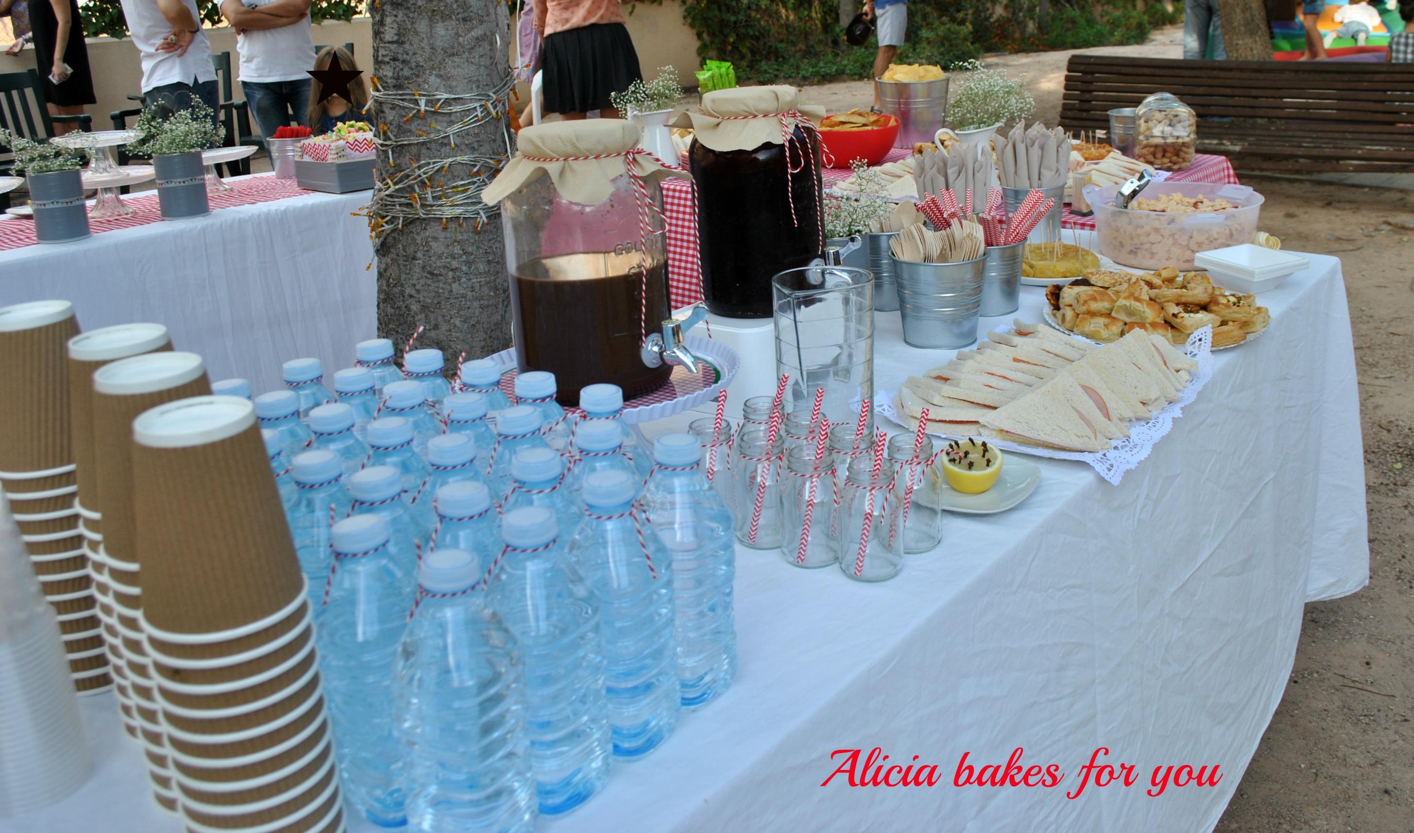 Alicia bakes for you baking for you for Mesa salada para cumple